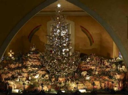 La crèche de Noël de Dommartin   Christmas scene of Dommartin